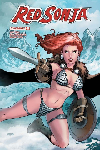 Red Sonja #17 (Gunderson Cover)