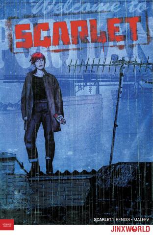 Scarlet #1 (Variant Cover)