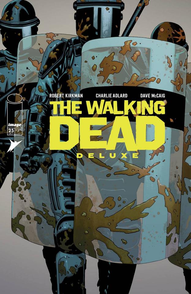 The Walking Dead Deluxe #25 (Adlard & McCaig Cover)