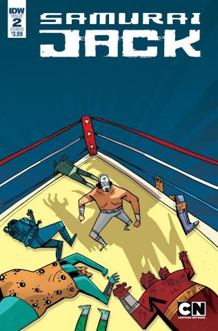 Samurai Jack: Quantum Jack #2 (Cadwell Johnson Cover)