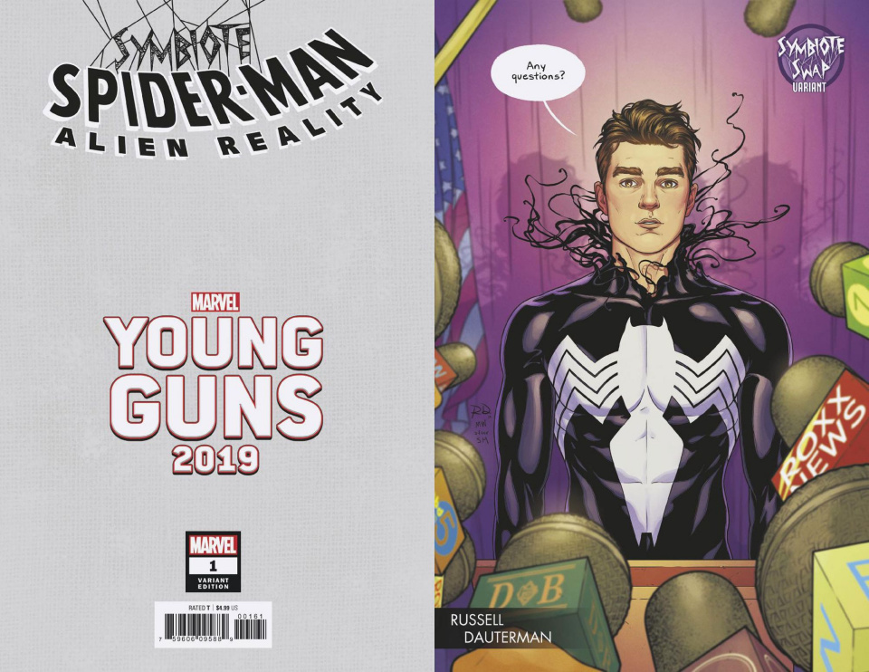 Symbiote Spider-Man: Alien Reality #1 (Dauterman Young Guns Cover)