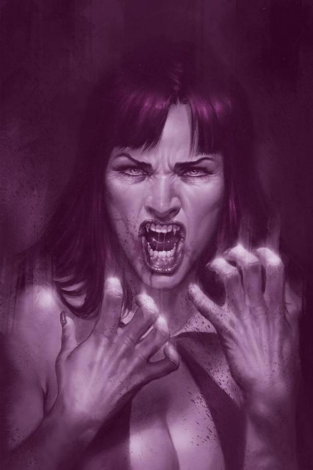 Vengeance of Vampirella #10 (35 Copy Parrillo Tint Virgin Cover)