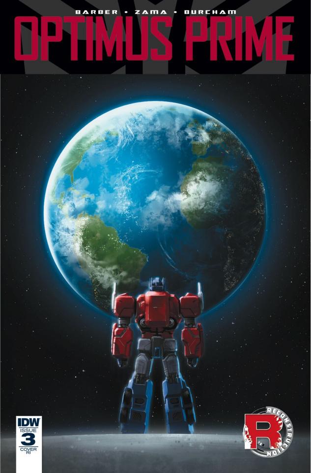 Optimus Prime #3 (10 Copy Cover)