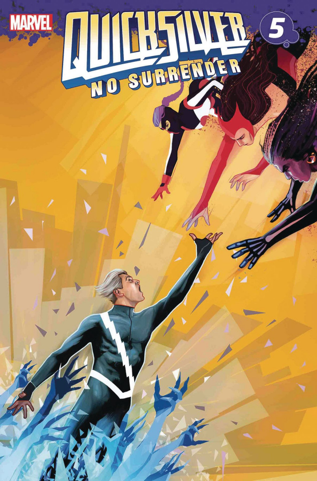 Quicksilver: No Surrender #5