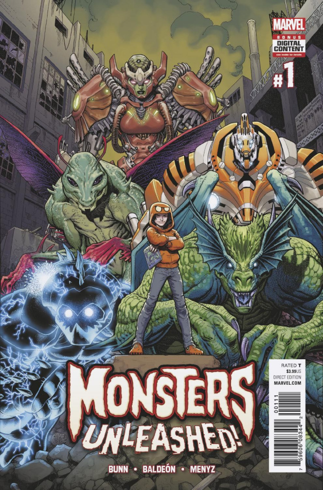 Monsters Unleashed! #1