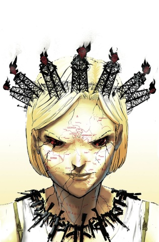 Burning Fields #2 (10 Copy Rossmo Cover)