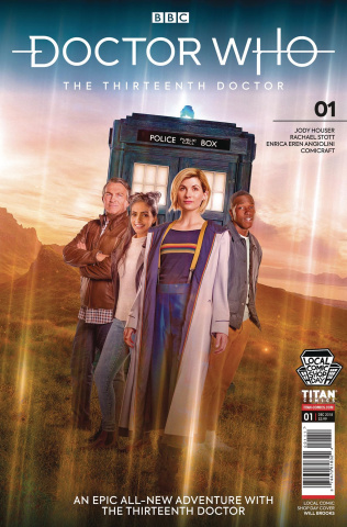 Doctor Who: The Thirteenth Doctor #1 (LCSD 2018 Set)