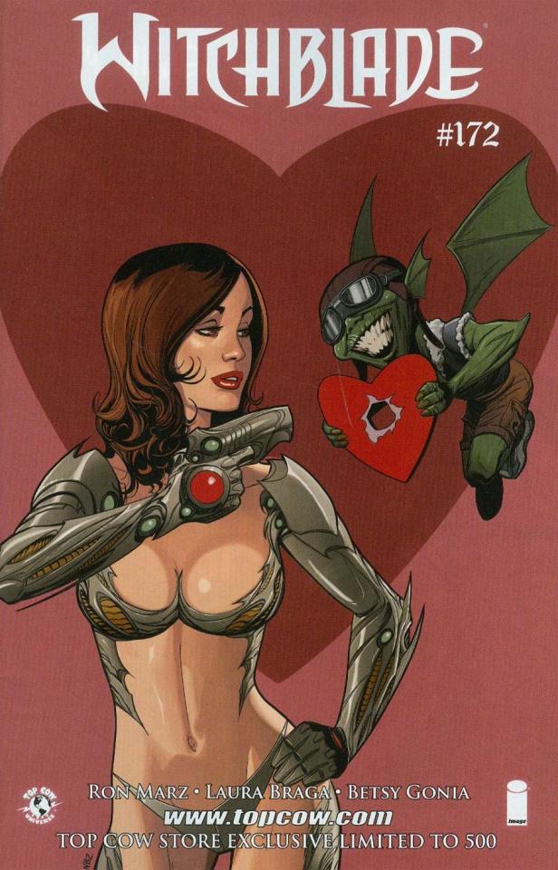 Witchblade #172 (Valentine's Day Cover)