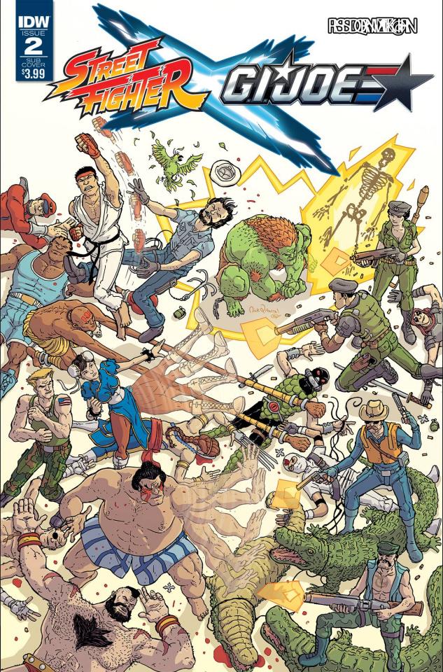 Street Fighter X G.I. Joe #2 (Subscription Cover)