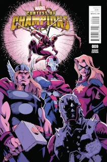 Contest of Champions #9 (Bagley Cover)