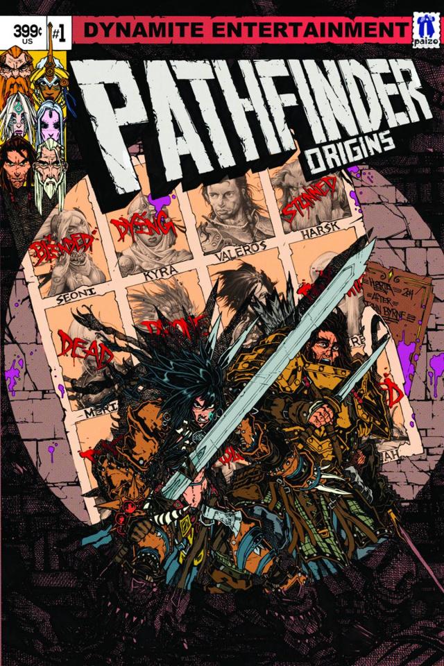 Pathfinder: Origins #1 (Huerta Cover)