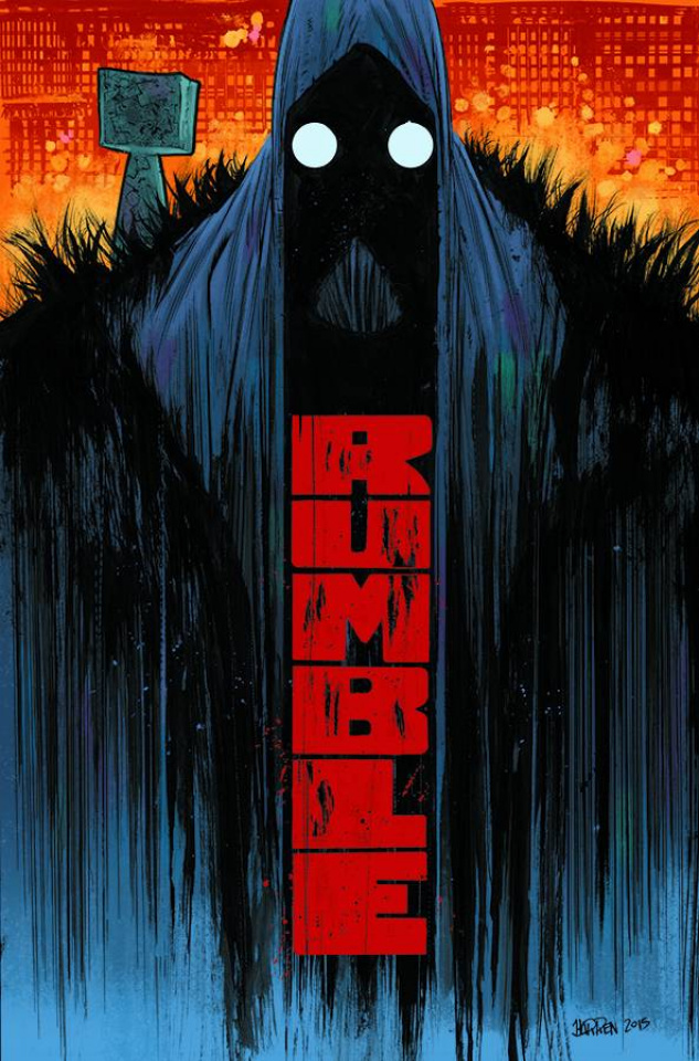 Rumble Vol. 1: What Color of Darkness?