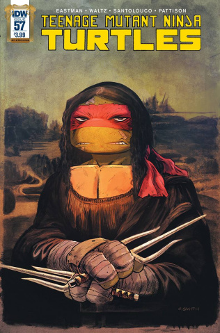 Teenage Mutant Ninja Turtles #57 (Art Appreciation Cover)