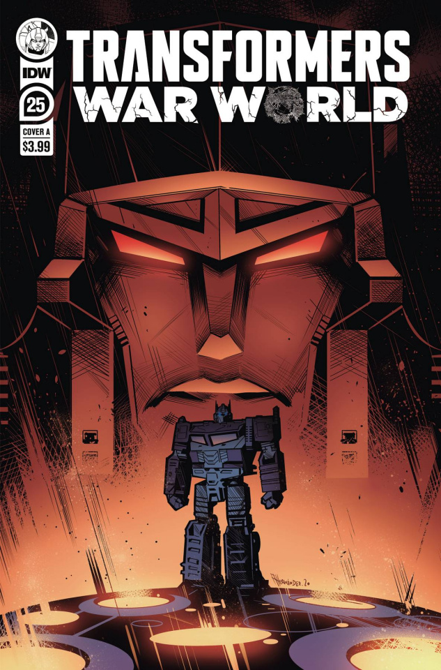 The Transformers #25 (Hernandez Cover)