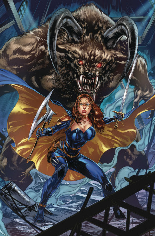 Belle: Beast Hunter #4 (White Cover)