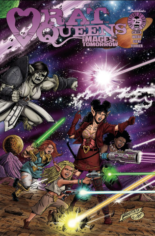 Rat Queens #4 (Images of Tomorrow Cover)