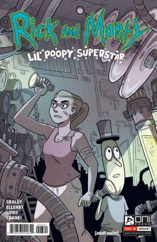 Rick and Morty: Lil' Poopy Superstar #3 (Ostertag Cover)