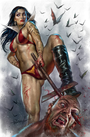 Vengeance of Vampirella #15 (Parrillo Virgin Cover)