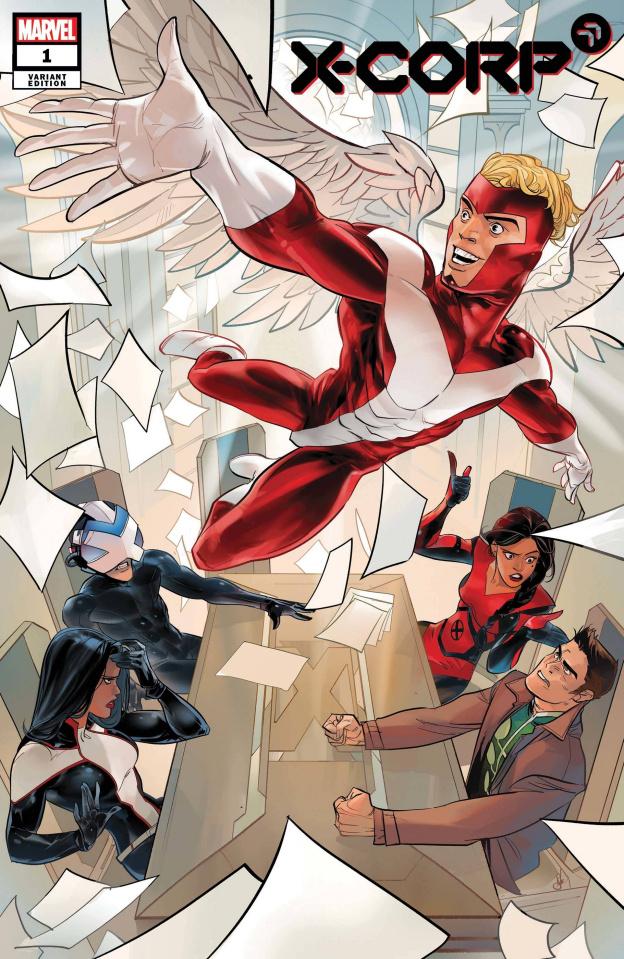 X-Corp #1 (Schmidt Cover)