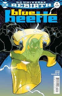 Blue Beetle #4 (Variant Cover)