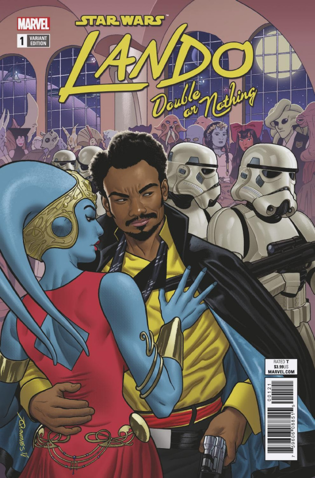Star Wars: Lando - Double or Nothing #1 (Quinones Cover)