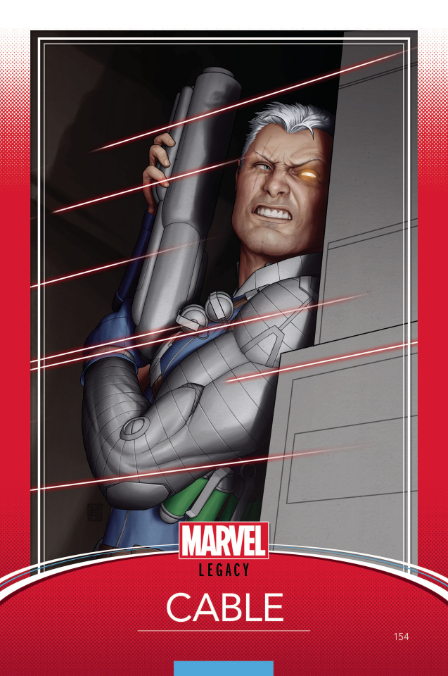Cable #154 (Christopher Trading Card Cover)
