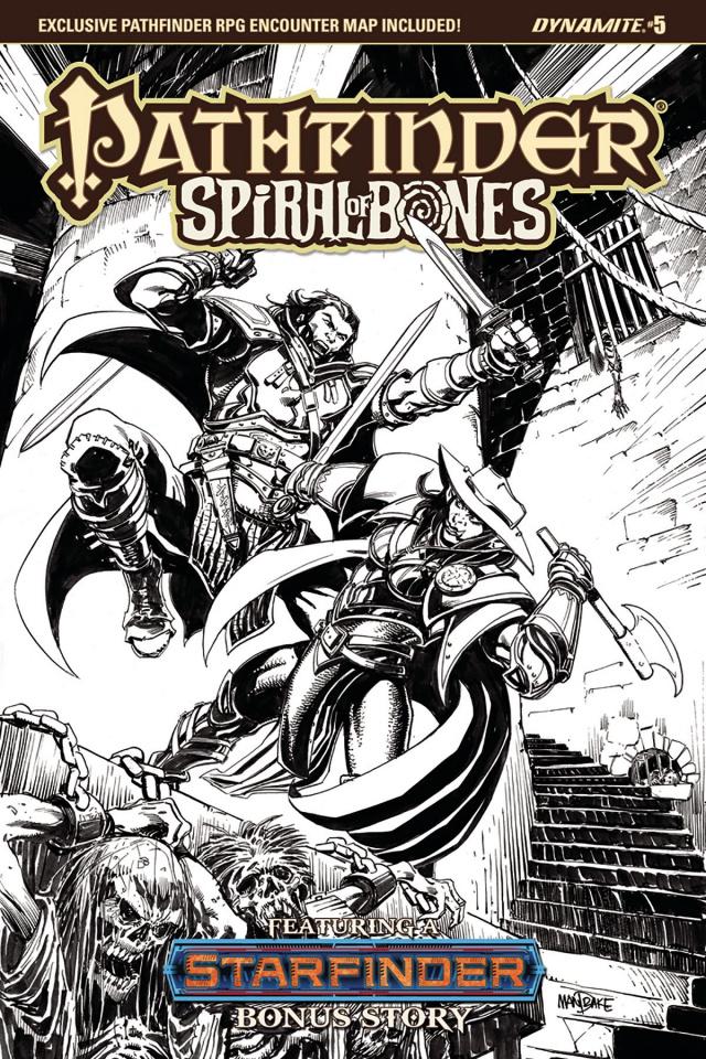Pathfinder: Spiral of Bones #5 (10 Copy Mandrake Cover)