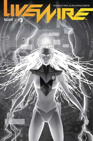 Livewire #3 (20 Copy B&W Pollina Cover)