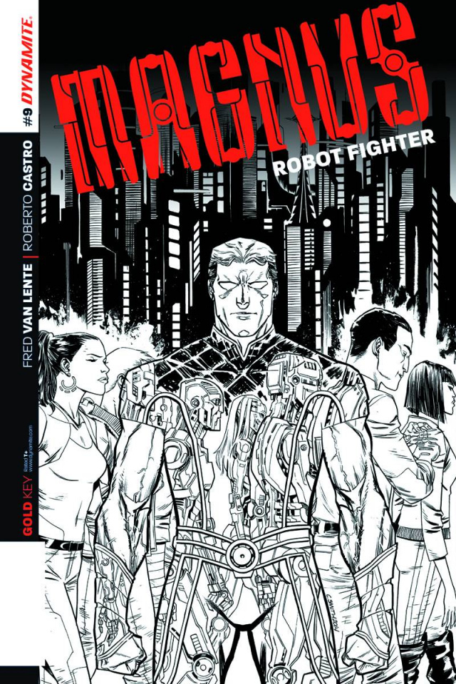 Magnus, Robot Fighter #9 (25 Copy Smith B&W Cover)