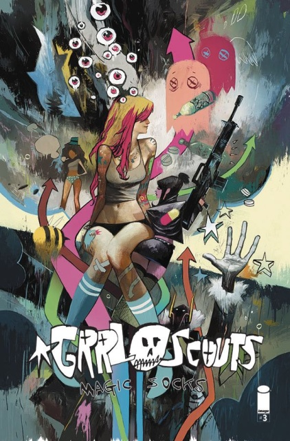 Grrl Scouts: Magic Socks #3 (Huddleston Cover)