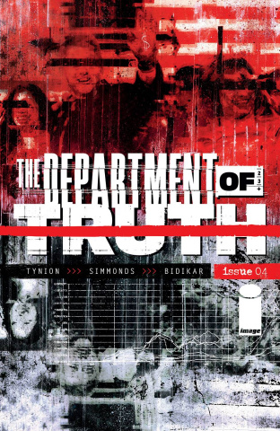 The Department of Truth #4 (Simmonds Cover)