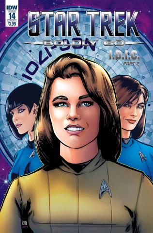 Star Trek: Boldly Go #14 (Shasteen Cover)