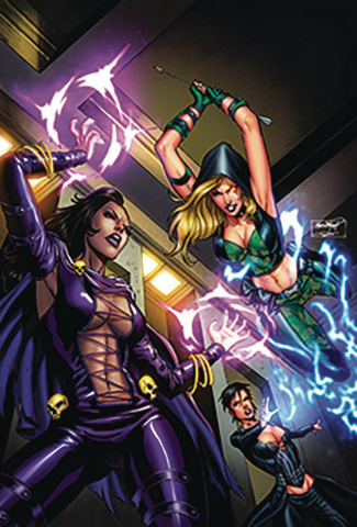 Robyn Hood: The Curse #3 (Goh Cover)