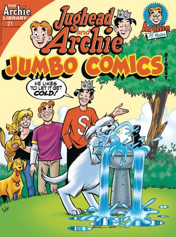 Jughead & Archie Jumbo Comics  Digest #21