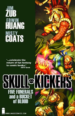 Skullkickers Vol. 2: Five Funerals and a Bucket of Blood