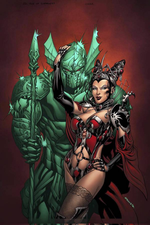 Grimm Fairy Tales: Oz - Age of Darkness (Atkins Cover)