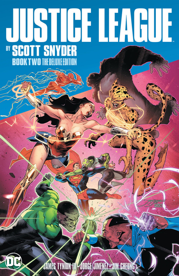 Justice League by Scott Snyder Book Two (Deluxe Edition)