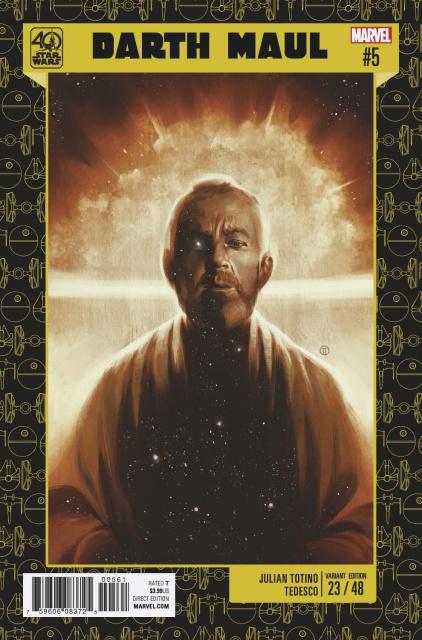 Star Wars: Darth Maul #5 (Tedesco Star Wars 40th Anniversary Cover)