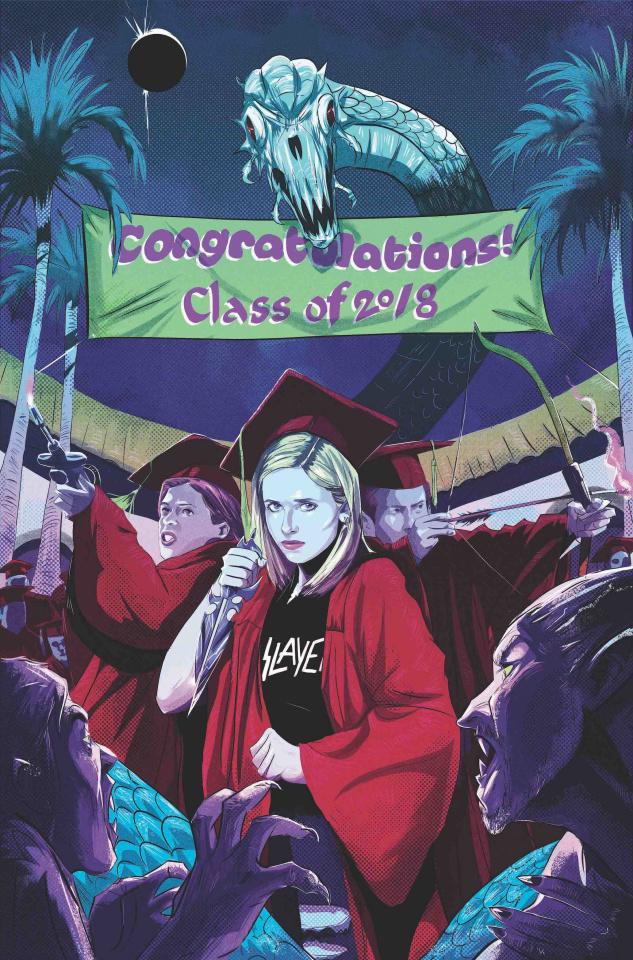 Buffy the Vampire Slayer #2 (Preorder Inzana Cover)