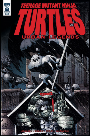 Teenage Mutant Ninja Turtles: Urban Legends #8 (Fosco & Larsen Cover)