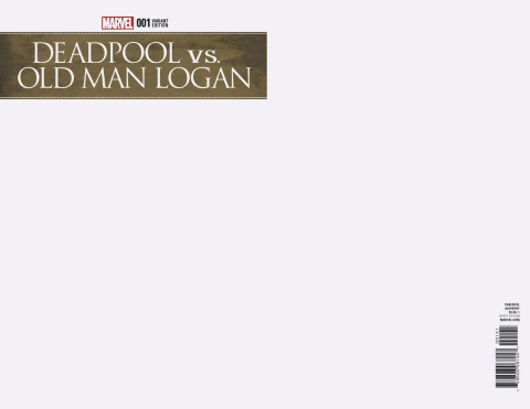 Deadpool vs. Old Man Logan #1 (Blank Cover)