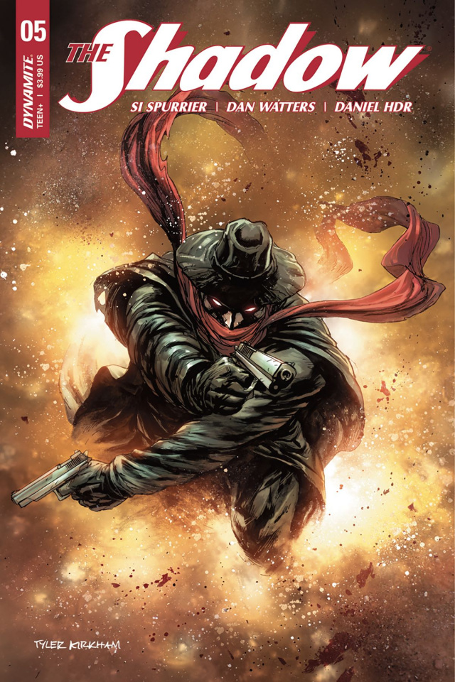 The Shadow #5 (Kirkham Cover)