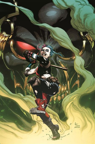 Future State: Harley Quinn #2 (Gary Frank Card Stock Cover)