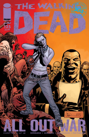 The Walking Dead #125