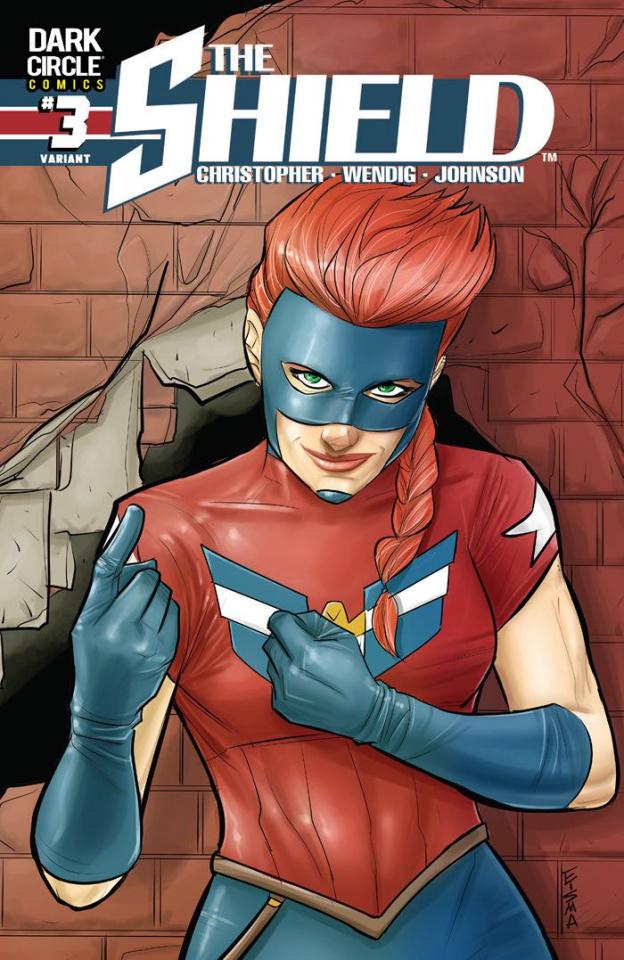 The Shield #3 (Eisma Cover)