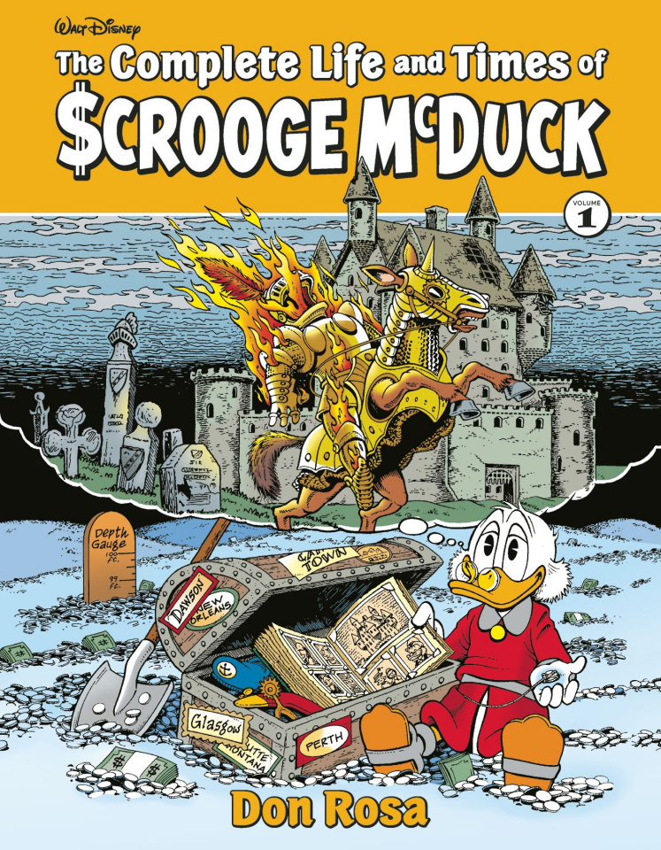 The Complete Life & Times Uncle Scrooge Vol. 1