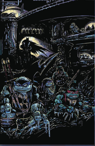 Batman / Teenage Mutant Ninja Turtles #4 (Variant Cover)