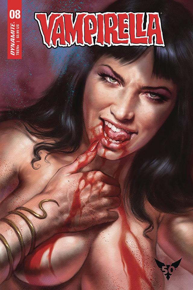 Vampirella #8 (10 Copy Parillo Cover)