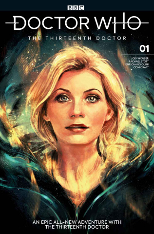 Doctor Who: The Thirteenth Doctor #1 (Zhang Cover)