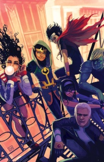 Young Avengers #2 (Hans Cover)